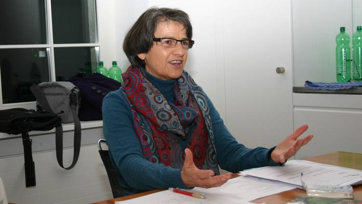 Weiss, wovon sie spricht: B&B-Gastgeberin Therese Wyder aus Remigen. (lp)