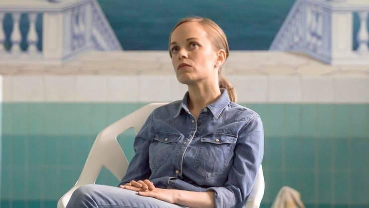 """Friederike Kempter als Kommissarin Nadeshda Krusenstern im """"Tatort"""" mit dem Titel """"Das Team"""", der am Mittwoch ausgestrahlt wurde."""