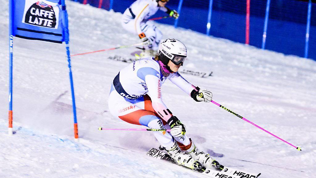 Aline Danioth - hier beim Team-Wettkampf im Einsatz - gewinnt an den Junioren-WM wie schon 2016 Gold in der Kombination