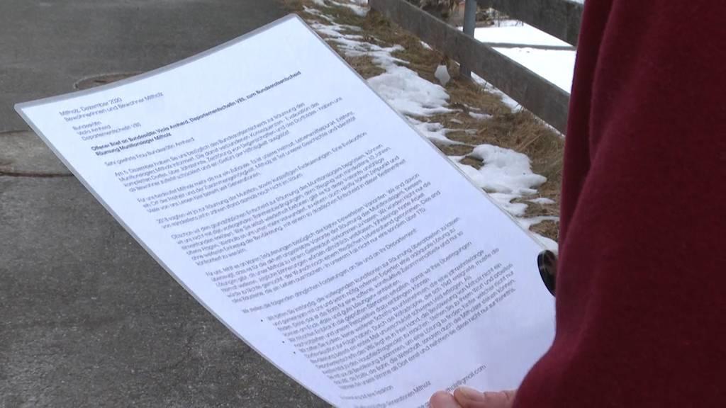 Munitionslager Mitholz: Anwohner wehren sich gegen die Evakuierung