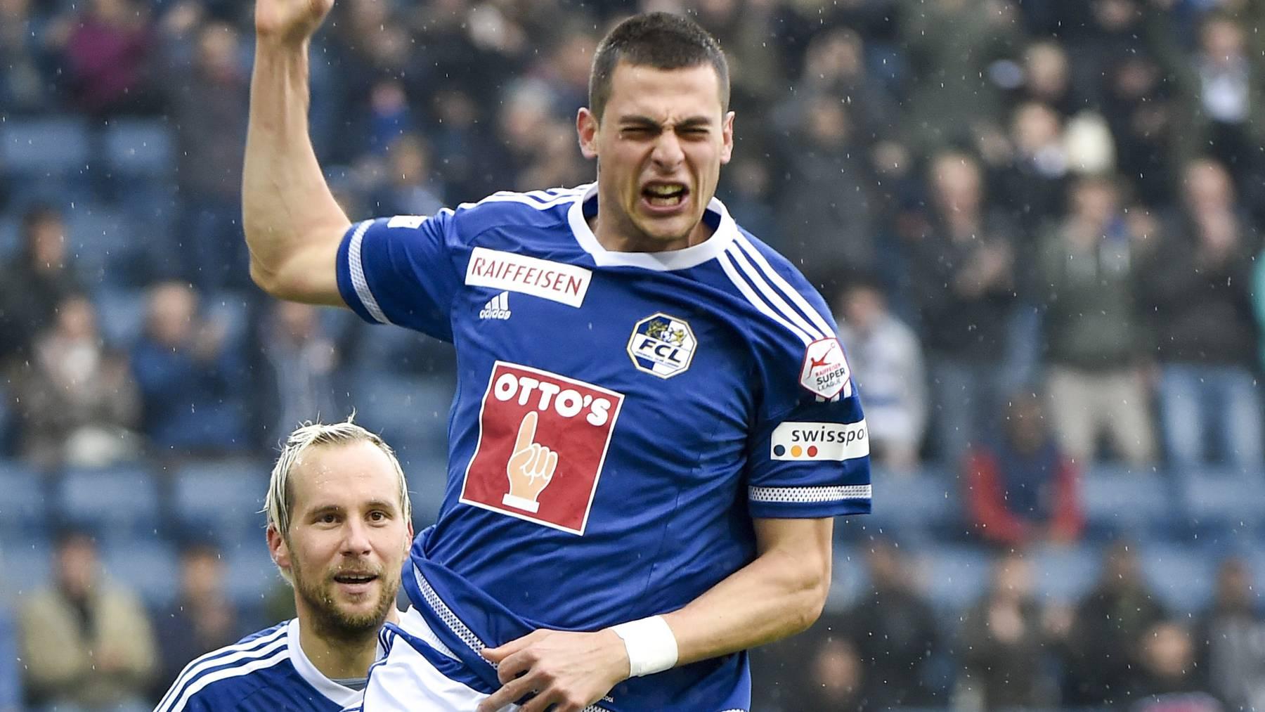 Der FC Luzern gewinnt gegen FC St.Gallen 3:0
