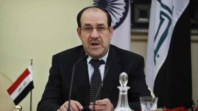 Premierminister Maliki teilt Kritik der Demonstranten (Archiv)