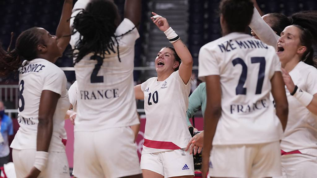 Frankreich glückt mit Premiere ein seltenes Handball-Double