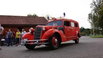 Der Cadillac mit Baujahr 1933 ist nun im Besitz des Feuerwehrvereins Villmergen.