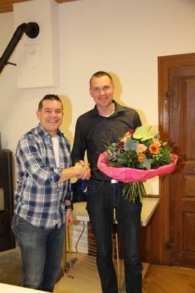 neues Ehrenmitglied Wendelin Hediger