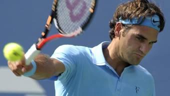 Roger Federer mit klarem Dreisatzsieg