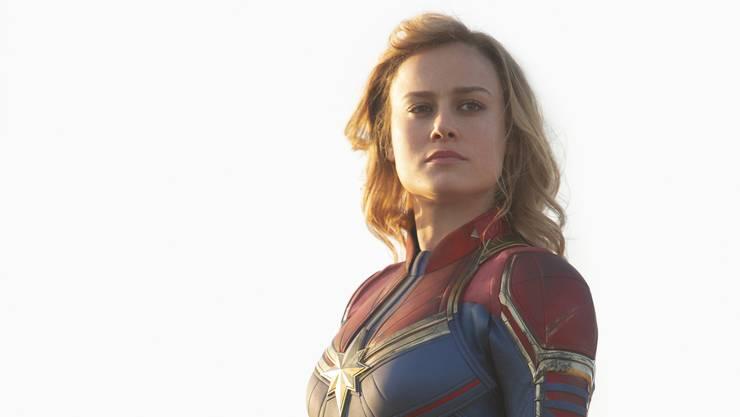 Superfrau auf wichtiger Mission: Brie Larson als «Captain Marvel».