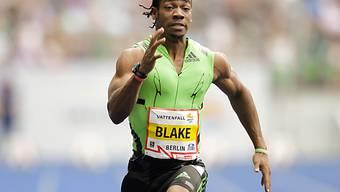 Yohan Blake knapp am 200-m-Weltrekord vorbei