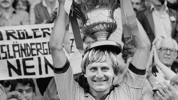 Jean-Paul Brigger gewinnt mit Sion den Cup.