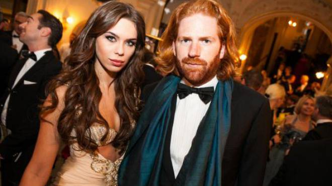 Patrick Liotard-Vogt zeigt sich gerne mit schönen Frauen: Hier am Opernball Zürich mit Model Liliana Matthäus.