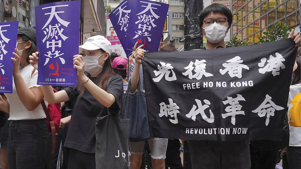 Chinas Pläne zum Erlass eigener Sicherheitsgesetze für Hongkong haben in der Sonderverwaltungsregion neue Proteste ausgelöst.