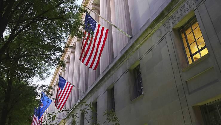 Das US-Justizministerium (DOJ) hat sich mit vier weiteren Banken geeinigt (Archiv)