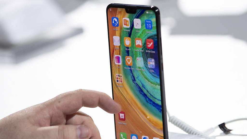 Huawei stellt neues Spitzen-Smartphone vor