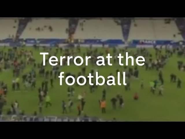 Anschläge in Paris: Explosionen beim Stade de France.