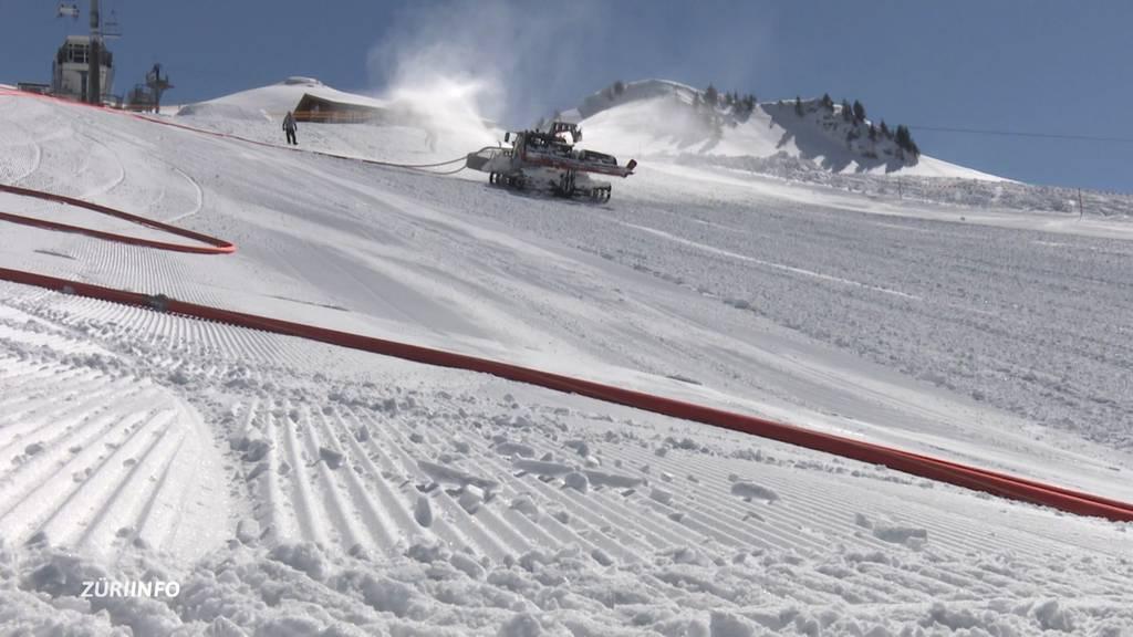 Grosser Aufwand für die Ski-Meisterschaft in Hoch Ybrig