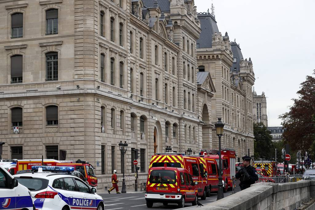 Messerangriff in Paris (© Keystone)