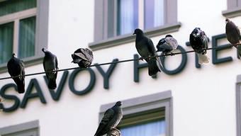 Im Keller des 5-Sterne-Hotels Savoy brannte es am Mittwochnachmittag. (Archiv)