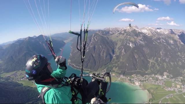 Trotz Handicap über die Alpen segeln