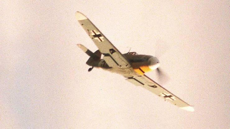 Eine Messerschmitt ME 109 bei einer Flugshow. (Archivbild)