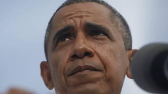 Sagt Asienreise wegen Budgetstreit ab: US-Präsident Obama (Archiv)