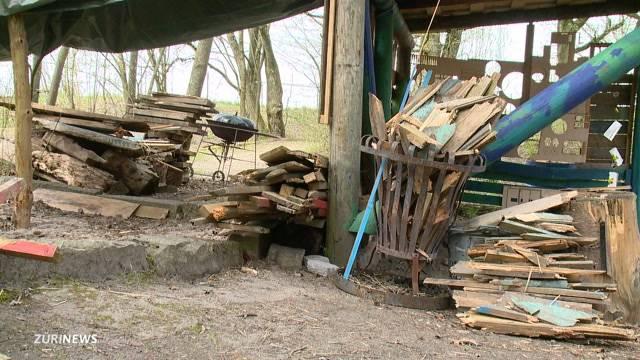 Vandalen wüten in Thalwil