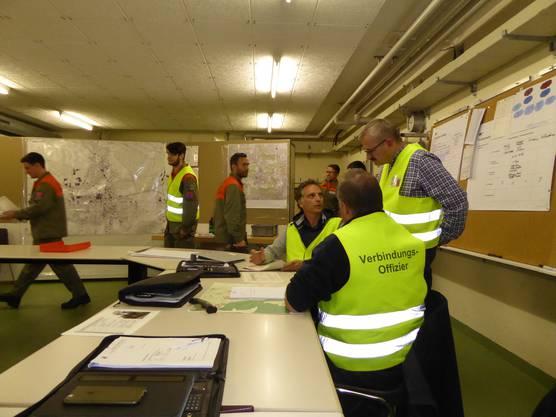 Das Regionale Führungsorgan koordiniert Aufgaben und Einsatzmittel.