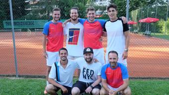 Wollen sich in der kommenden Saison in der Nationalliga C behaupten: die erste Männer-Mannschaft des TC Rheinfelden.