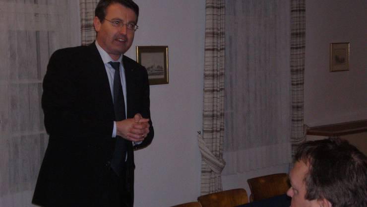 Thomas Burgherr, Präsident SVP Aargau und  Grossrat