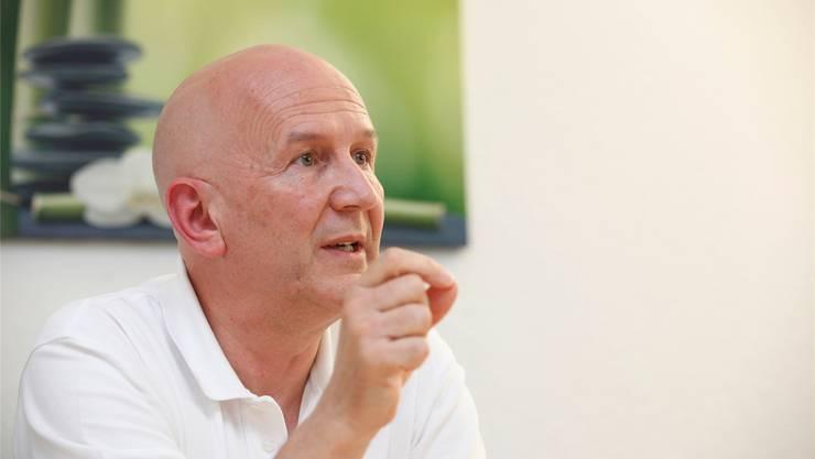 Spitzenmediziner in Solothurn: Der Neurochirurg Daniel Jeanmonod. Hanspeter Bärtschi