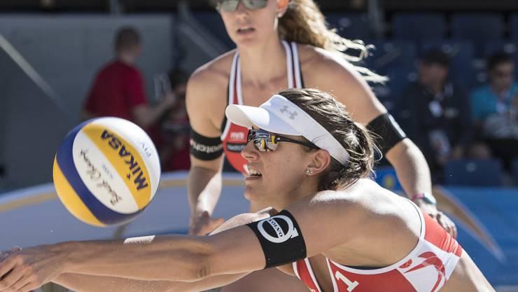 Tanja Hüberli und Nina Betschart trumpfen in dieser Saison mit konstanten Leistungen auf