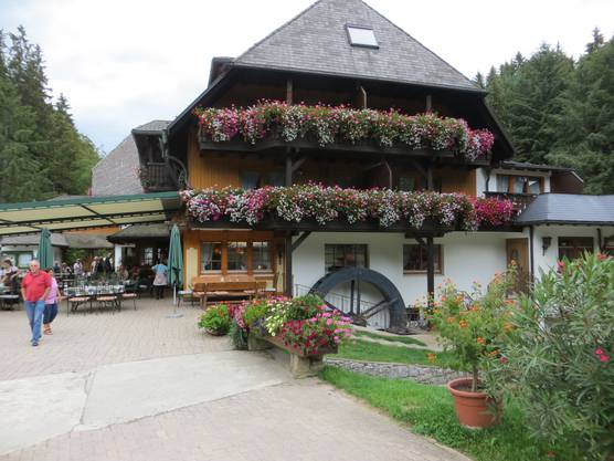 """Und hier hatten wir das Zvieri Schwarzwaldgasthof """"Tannenmühle"""""""