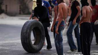Demonstranten in Bahrain (Archiv)