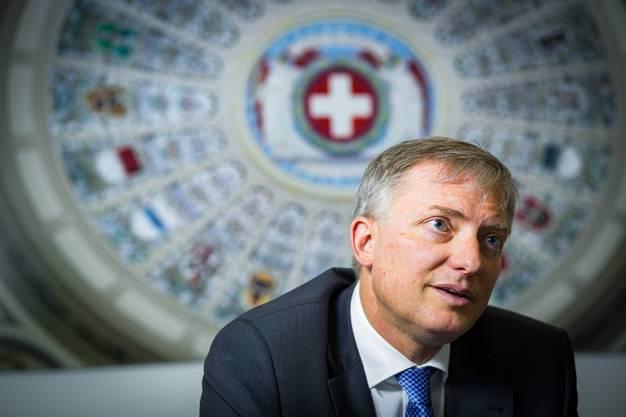 Sah sich nicht in der Verwantwortung: Ex-Nachrichtendienstchef Markus Seiler.