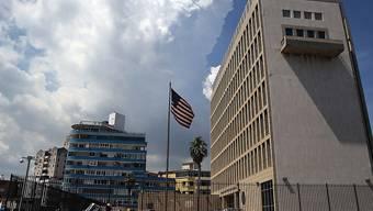 Gebäude der US-Botschaft in Havanna (Archiv)