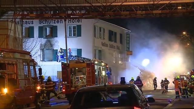 Brand in Laufenburg