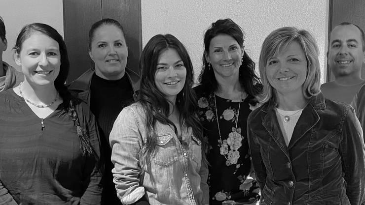 Von links nach rechts: Marianne Doornenbal, Yolanda Stöckli, Elke Seitz, Judith Schmid, Katja Deiss,