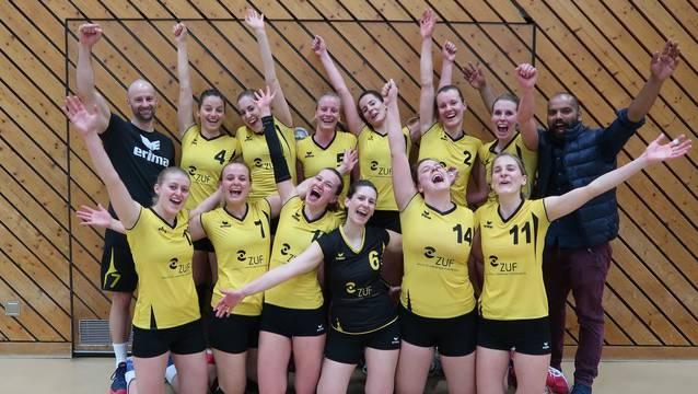 Die Frauen vom SV Volley Wyna müssen vor der Finalissima ein Personalproblem lösen.