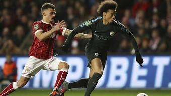 Leroy Sané steht Manchester City wohl ein paar Wochen nicht zur Verfügung