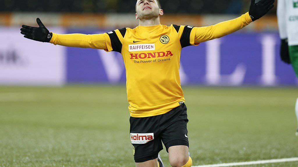 Renato Steffen war in Bern nicht mehr glücklich