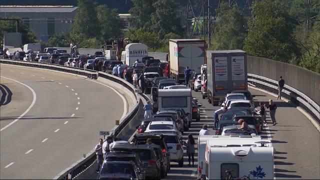 Autobahnausbau zwischen Aarau Ost und Birrfeld