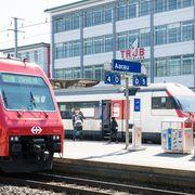 Bahnhof Aarau (Archiv)