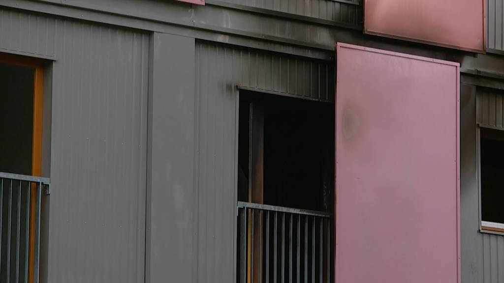 Winterthur: Brand in Asylunterkunft fordert Leichtverletzten