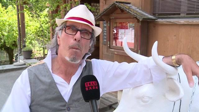 Hotelier Schenker in Lauenen