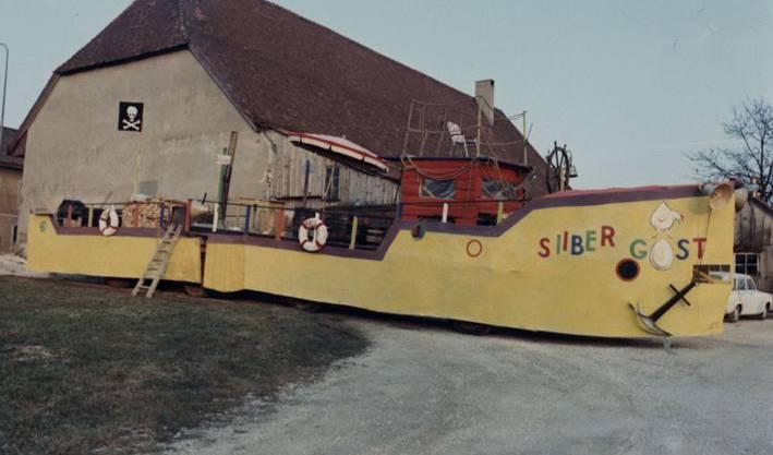 Erstmals gingen die Hudibras-Chutze 1967 auf Naareschifffahrt