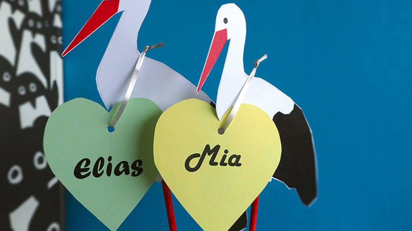 Elias und Mia beliebteste Vornamen in Luzern