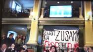 Demo im Parlament