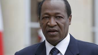 Sein letzter Regierungschef sitzt in Haft: Burkina Fasos gestürzter Präsident Blaise Compaoré. (Archivbild)