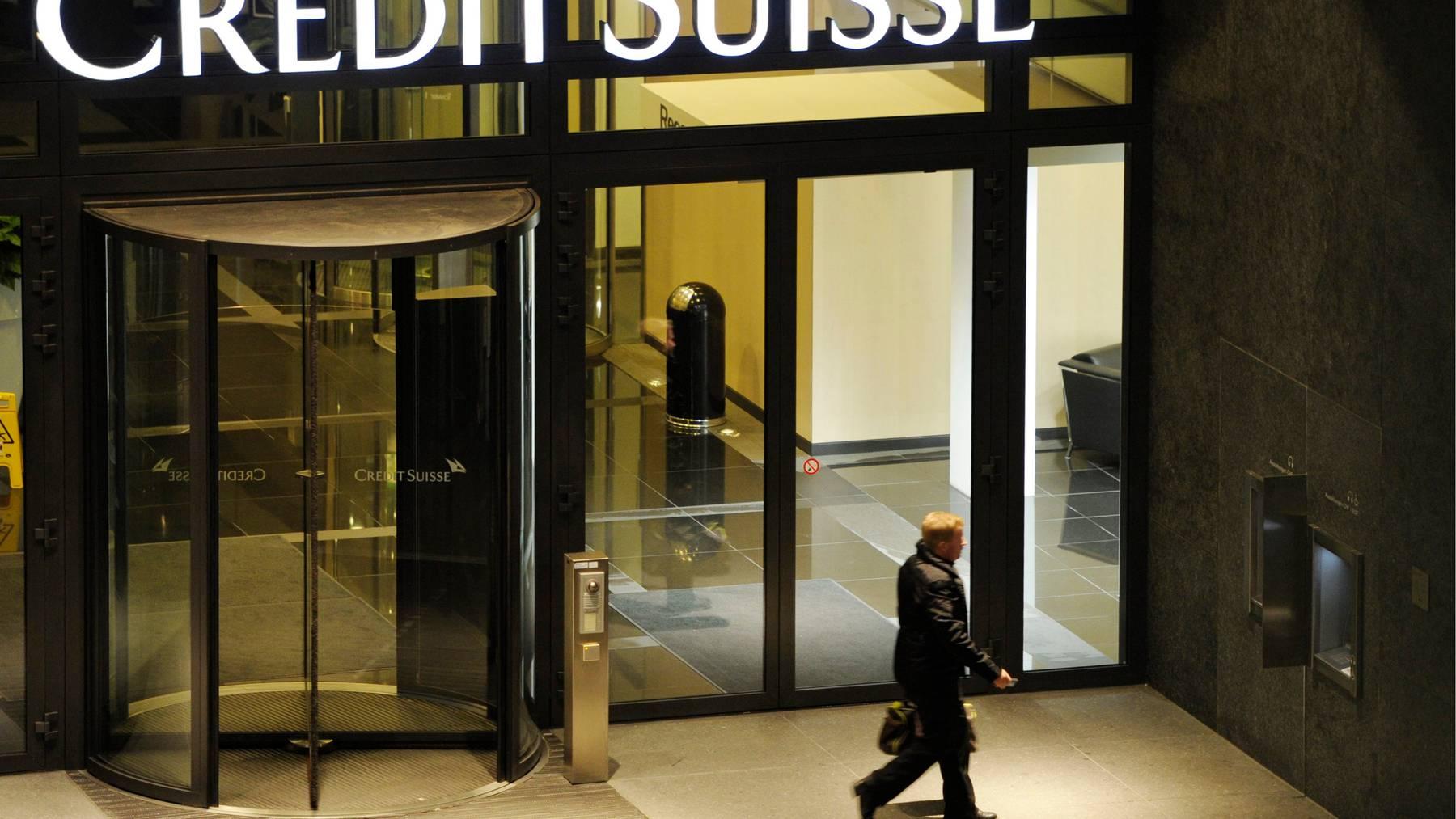 Die Geschäftsleitung der Credit Suisse verzeichnet einen Neuzugang. (Symbolbild)