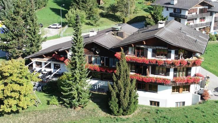 Mit der Ruhe ist es vorbei: Das Hotel Belfort in Alvaneu im Graubünden.