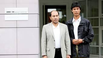 «Die Schweiz hat uns sehr geholfen»: die zwei aufgenommenen Uiguren im Jura.